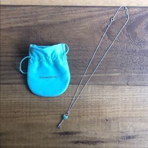 Tiffany Key Heart Pendant w/ Tiffany chain